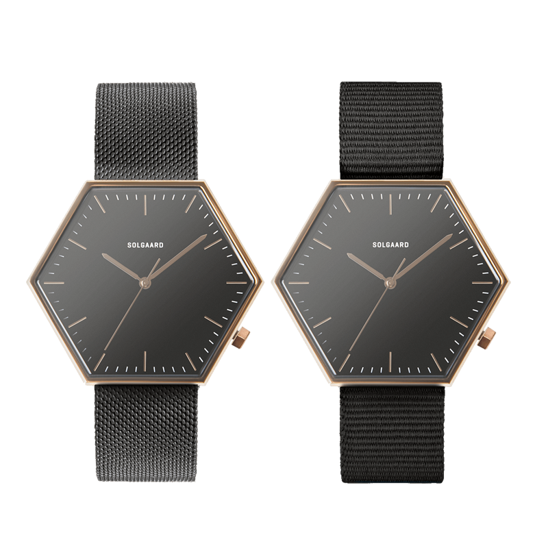 Gallery Watches Modernist 2.0 Mesh Front Duo