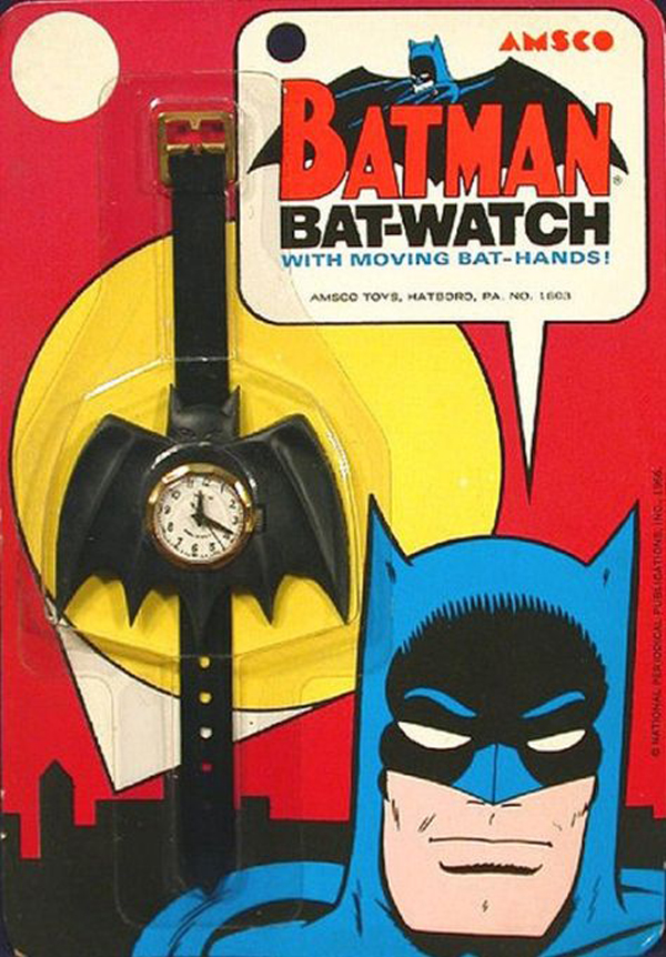 batman 60s watch